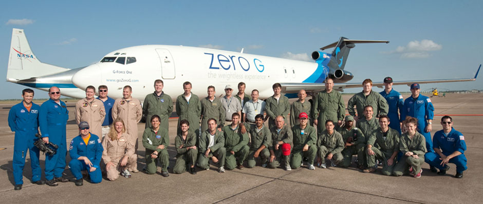 Parabolic Flight Campaign crew - July 2011