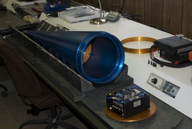 Integration of the Suborbital Flight Environment Monitor (SFEM) into the Nose Cone of the SpaceLoft rocket